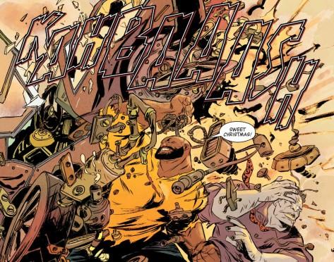 From Powerman & Iron Fist #5 by Sanford Greene & Lee Loughridge