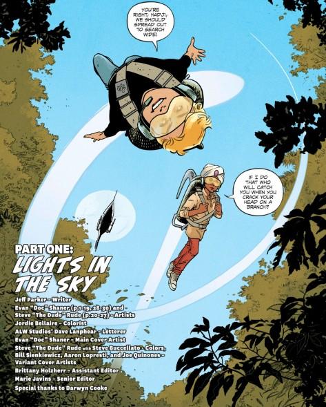 From Future Quest #1 by Evan Doc Schaner & Jordie Bellaire