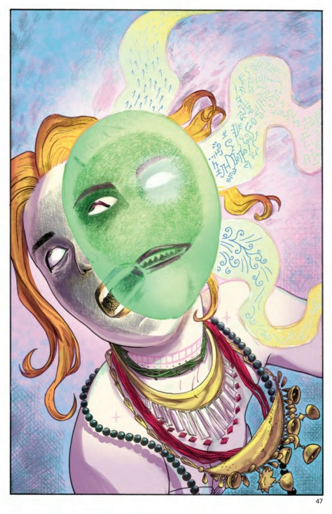 From Dark Horse Presents #22 by Carla Speed McNeil & Jenn Manely Lee