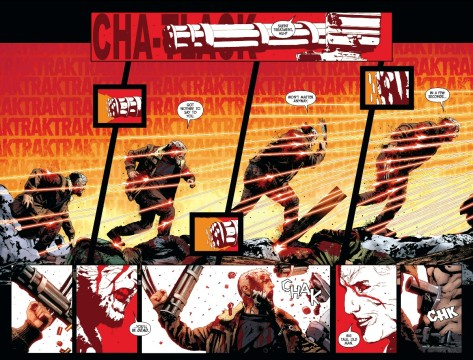 From Old Man Logan #6 by Andrea Sorrentino & Marcelo Maiolo