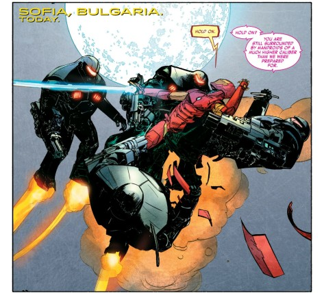 From International Iron Man #3 by Alex Maleev & Paul Mounts