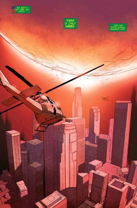 From Martian Manhunter #12 by Ben Oliver & Gale Eltaeb