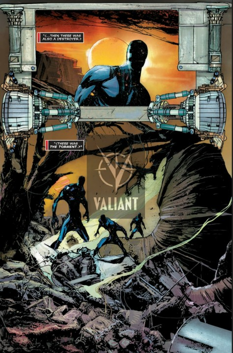 From XO Manowar 2016 Annual #1 by Robert De Torres & Dean White