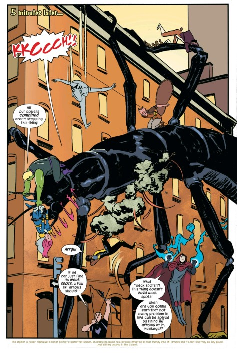 From The Unbeatable Squirrel Girl #8 by Erica Henderson & Rico Renzi