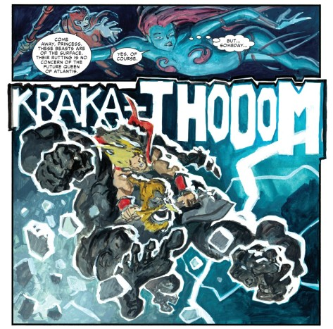 From The Mighty Thor #7 by Raffa Garres