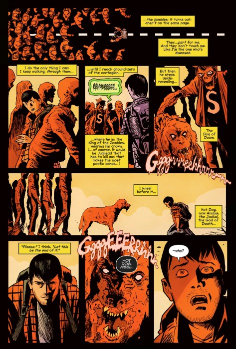 From Afterlife With Archie #9 by Francesco Francavilla