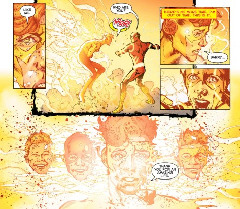 From DC Universe Rebirth #1 by Phil Jimenez, Gary Frank, Matt Santorelli, Gale Eltaeb & Brad Anderson