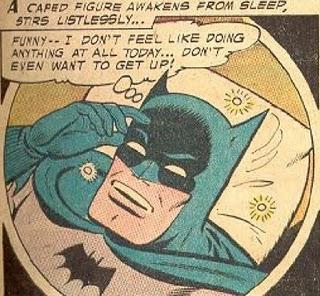 Batman Sick