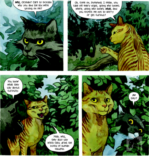 Beasts of Burden What the Cat convo Jill Thompson