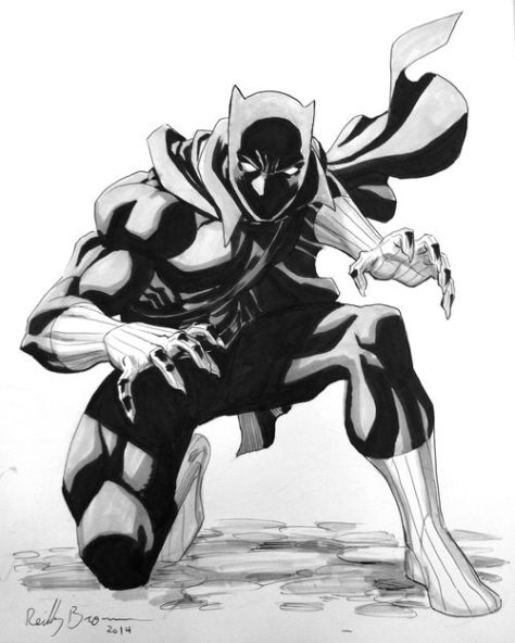Black Panther Reilly Brown