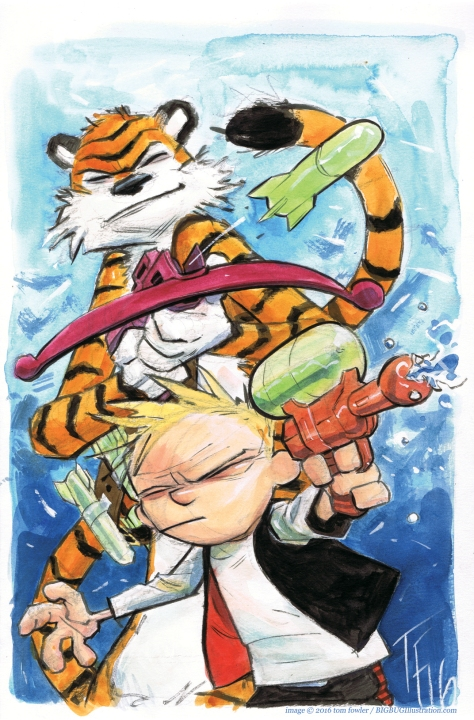 Calvin & Hobbes Tom Fowler