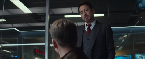 Captain America Civil War Steve & Tony