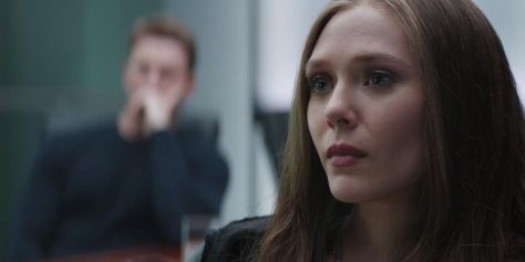 Captain America Civil War Wanda