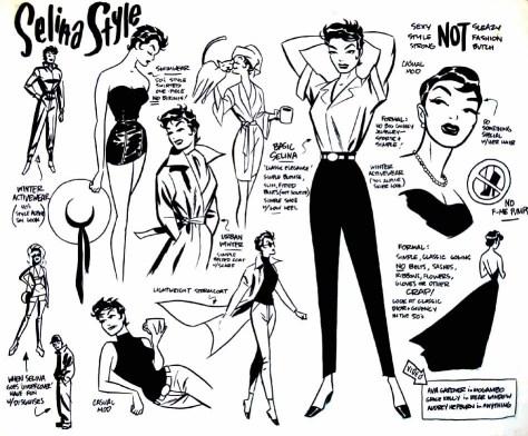 Catwoman style sheet Darwyn Cooke