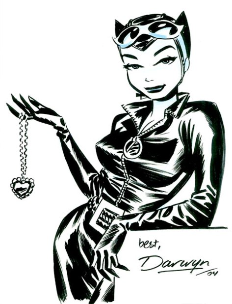 Catwoman with jewel Darwyn Cooke