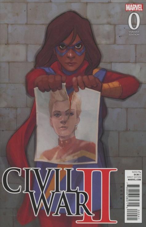 Civil War II 0 Phil Noto