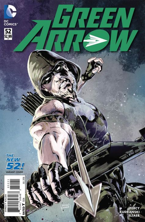 Green Arrow 52 Szymon Kudranski