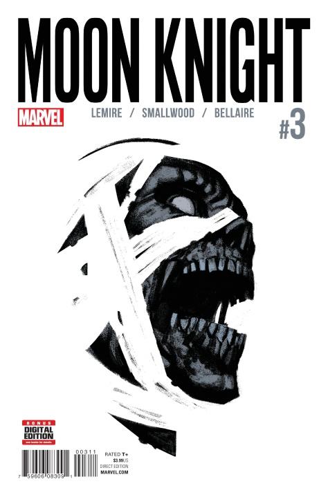 Moon Knight #3 by Greg Smallwood