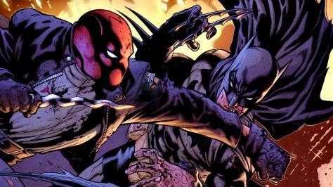 Red Hood vs Batman
