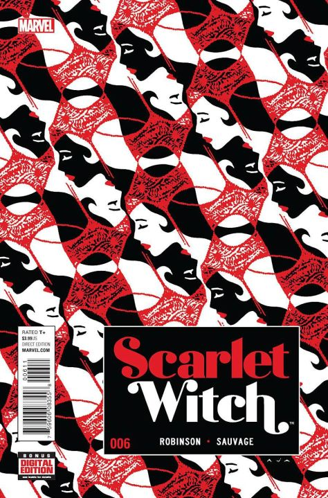 Scarlet Witch 6 David Aja