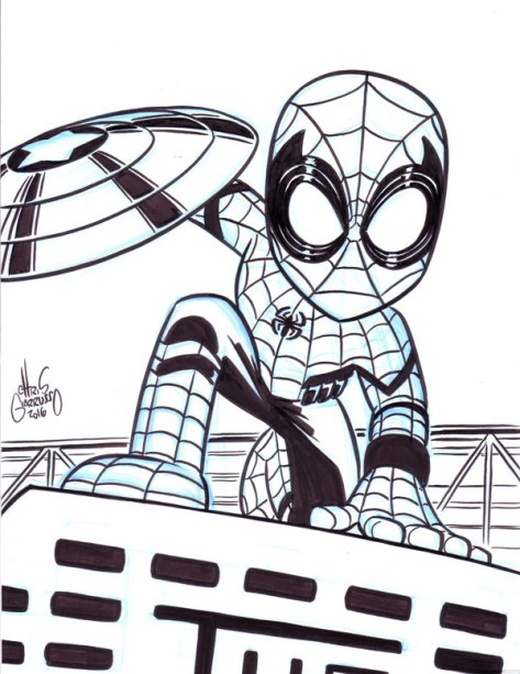Spider-Man Chris Giarrusso