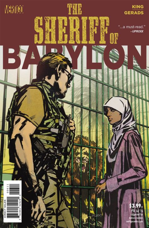 The Sheriff of Babylon 6 John Paul Leon