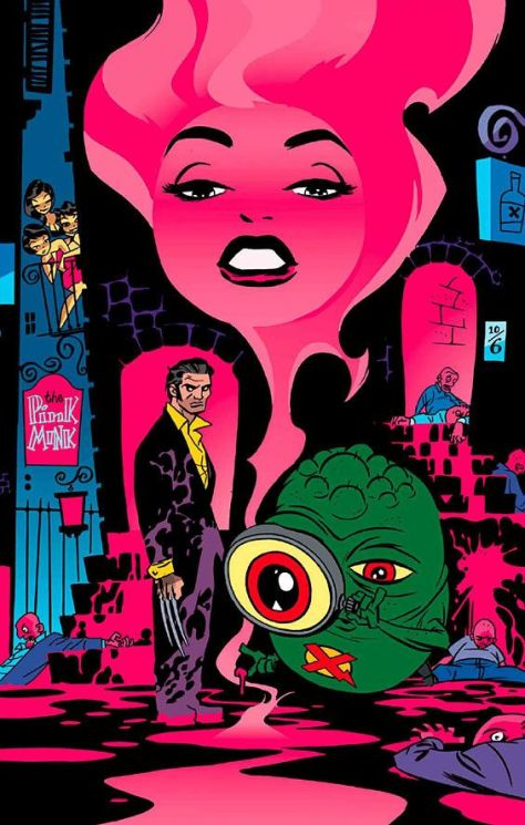 Wolverine and Doop Darwyn Cooke
