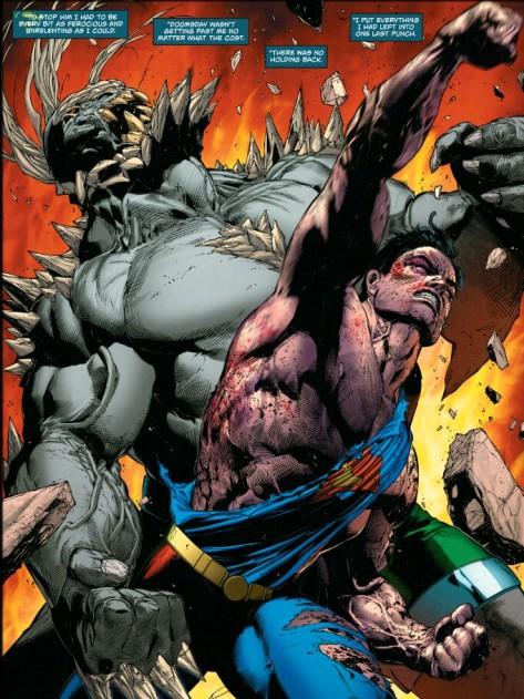 From Superman: Rebirth #1 by Doug Mahnke, Jaime Mendoza & Will Quintana