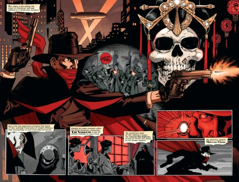 From The Shadow: The Death of Margo Lane #1 by Matt Wagner & Brennan Wagner