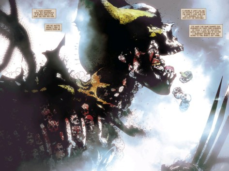 Fro Old Man Logan #7 by Andrea Sorrentino & Marcelo Maiolo