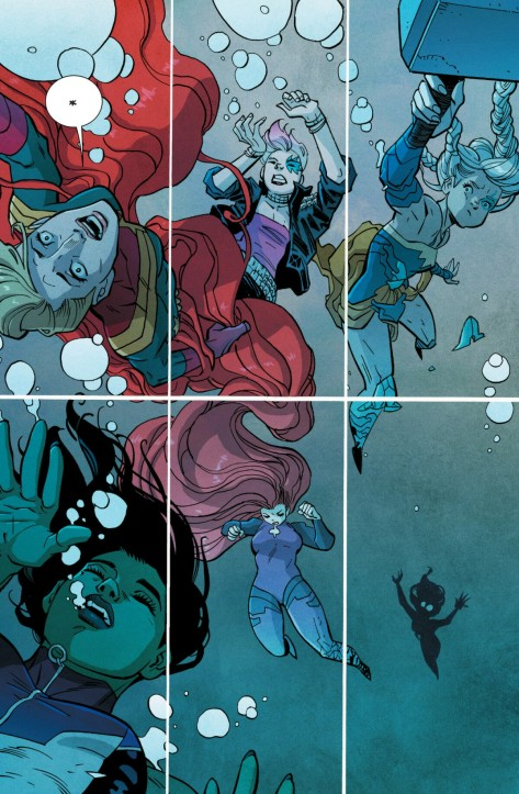 From A-Force #6 by Ben Caldwell & Ian Herring