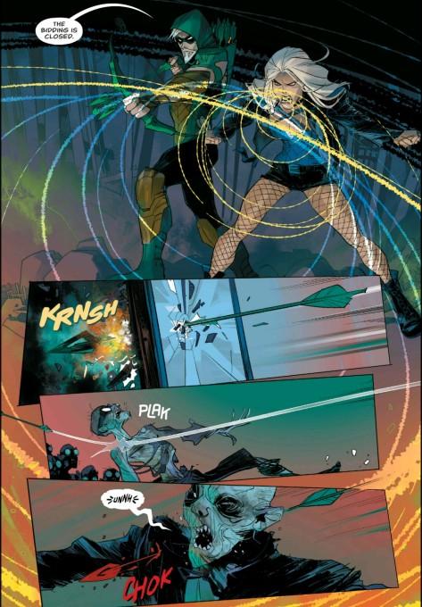 From Green Arrow: Rebirth #1 by Otto Schmidt & Nate Piekos