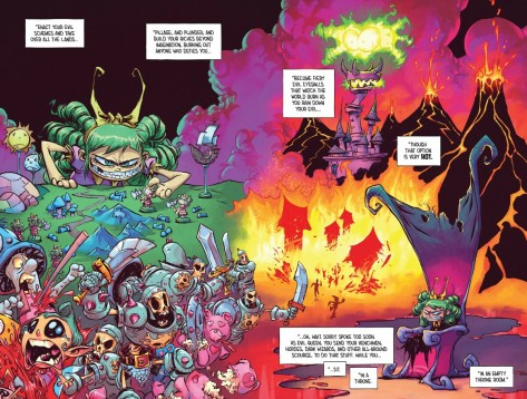 From I Hate Fairy Land #6 by Skottie Young & Jean-Francois Beaulieu