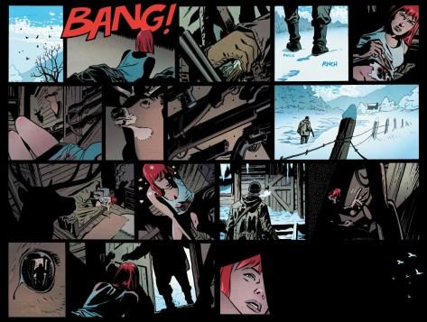 From Black Widow #4 by Chris Samnee & Matt Wilson