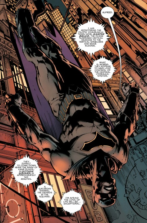 From Batman #1 by David Finch, Jordie Bellaire & Matt Banning