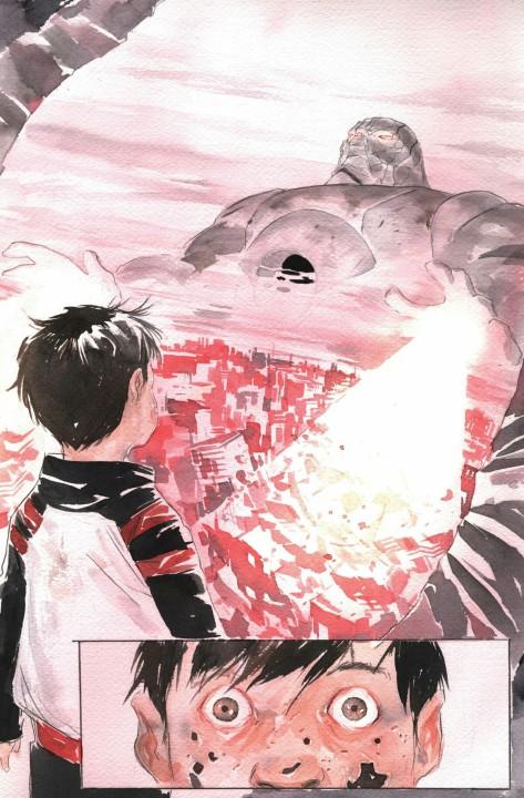 From Descender #12 by Dustin Nguyen