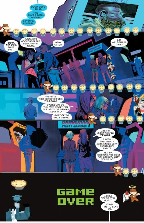 From Spider-Gwen #9 by Robbie Rodriguez & Rico Renzi