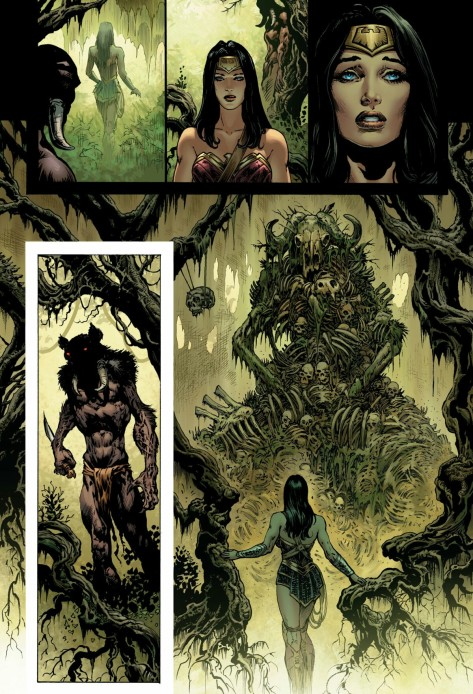 From Wonder Woman #1 by Liam Sharp