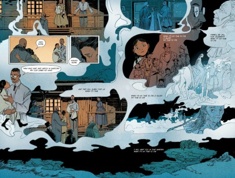 From Pretty Deadly #10 by Emma Rios & Jordie Bellaire