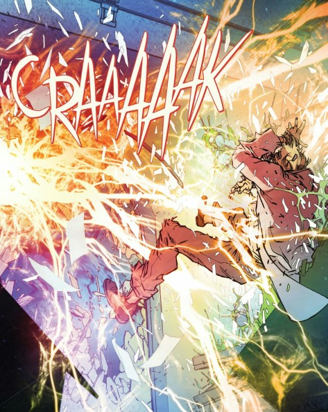 From The Flash #1 by Carmine