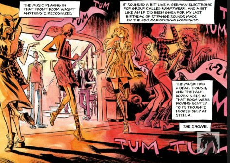 From How To Talk To Girls At Parties by Gabriel Ba & Fabio Moon