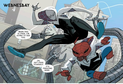 From Spider-Gwen Annual #1 by Jason Latour