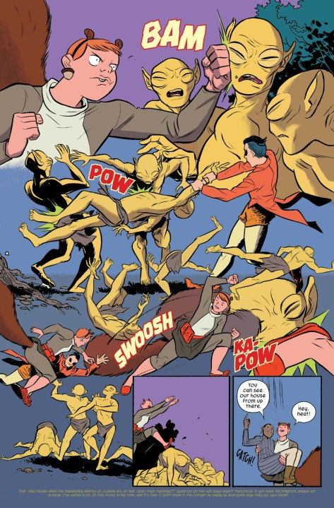 From The Unbeatable Squirrel Girl #9 by Erica Henderson, Rico Renzi & Tom Fowler