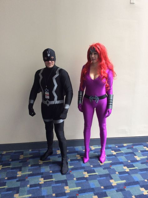 Black Bolt & Medusa