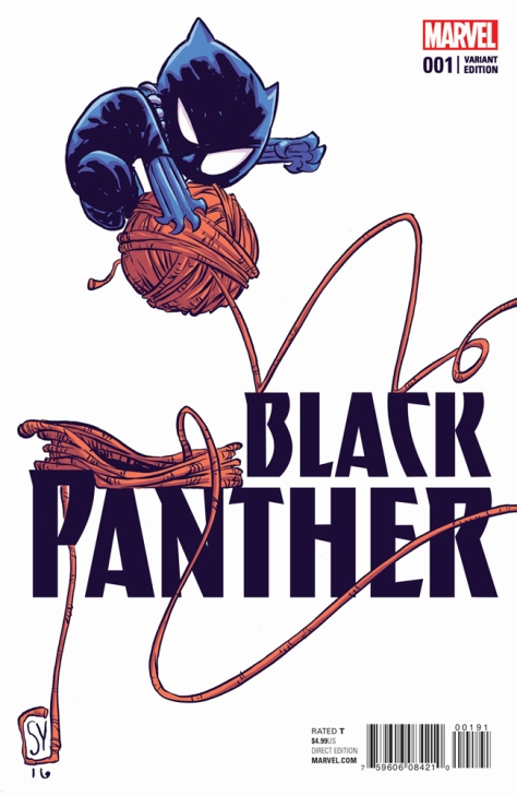 Black Panther 1 Skottie Young