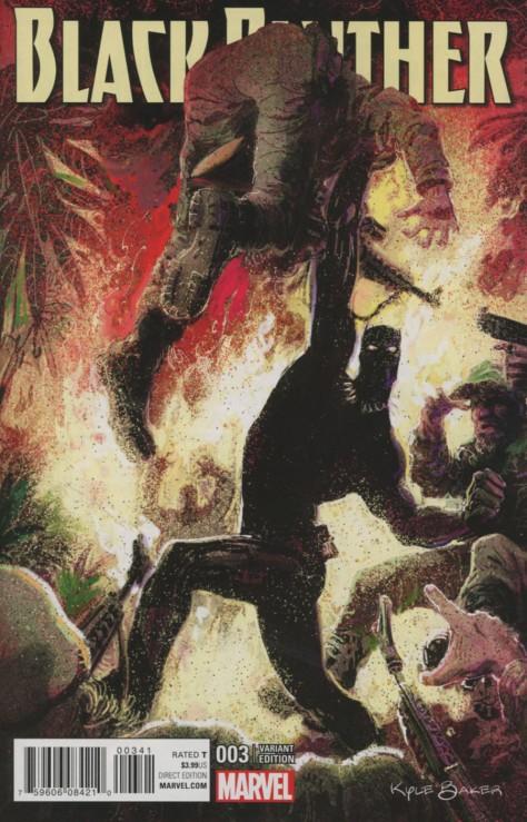 Black Panther 3 Kyle Baker