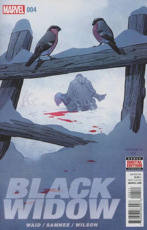 Black Widow 4 Chris Samnee
