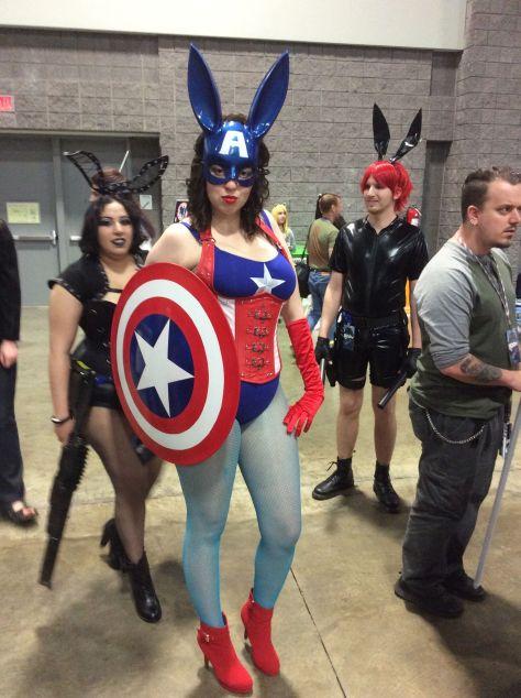 Captain America & Companions