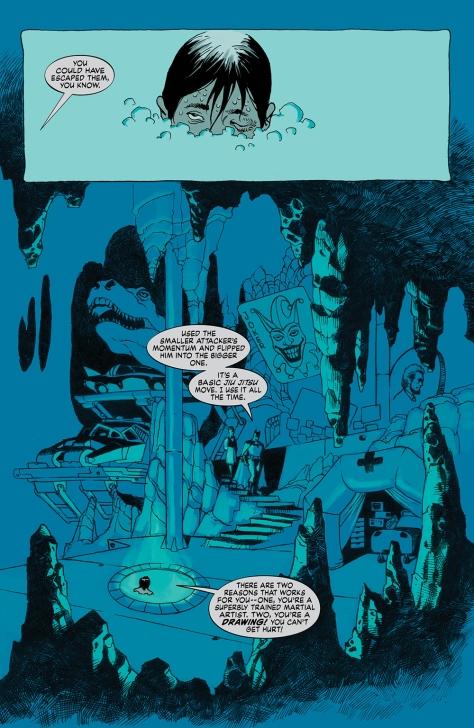 Dark Knight A True Batman Story Batcave Eduardo Risso