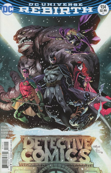 Detective Comics 934 cover Eddy Barrows